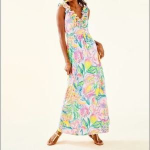 Lilly Pulitzer Leena Maxi Dress